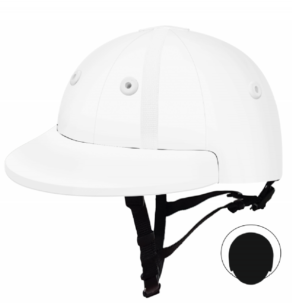 English Peak Style Helmet Polo. (x 1) (84590022-ywbxkmc3)